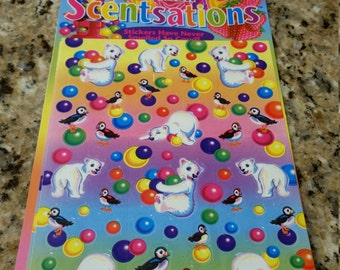 Vintage Lisa Frank Sticker Scentsations MIP