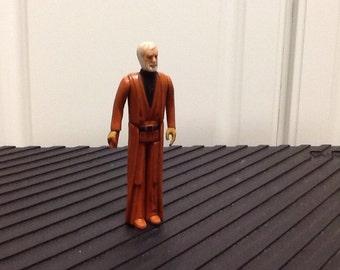 Star Wars Vintage Original White-Haired Obi Wan Kenobi Action Figure, 1978