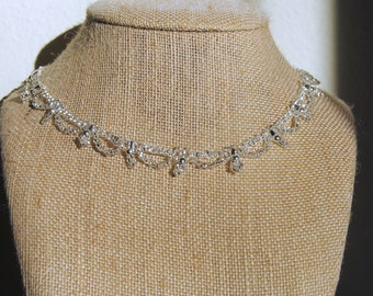 Crystal Waves Necklace