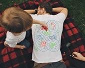 XL, Car Play Mat Shirt, Christmas Gift for Dad, Car Track Shirt, Step Dad Gift from Kids, Car Mat Shirt, Father Son Shirt, Dad Shirt