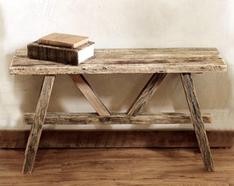 Rustic Bench - Reclaimed wood bench - Barn wood