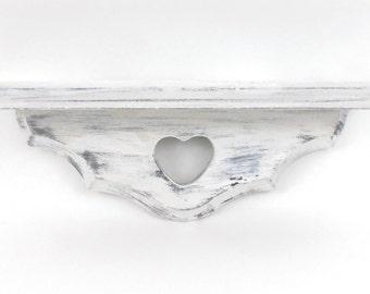Shabby Chic Shelf, Shabby Chic, Plate Shelf,  Shabby White Plate Shelf, White Display Shelf, Shabby Chic White Shelf, Cottage Chic Shelf