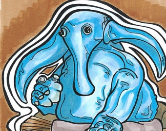 Max Rebo original illustration