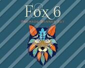"Etsy Shop Banner Set - Graphic Banners - Branding Set - ""Fox 6"""