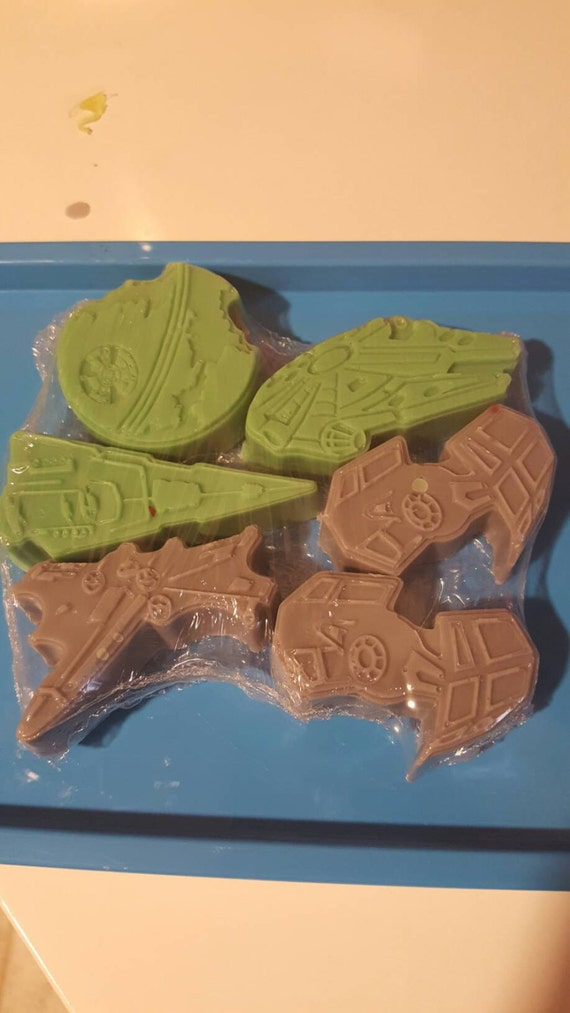 STAR WARS SHIPS Soap!!