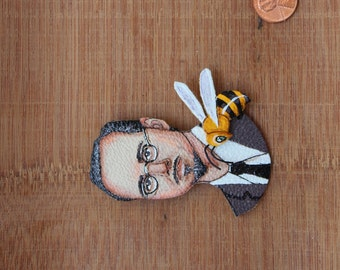 Mark Ryden with Bee
