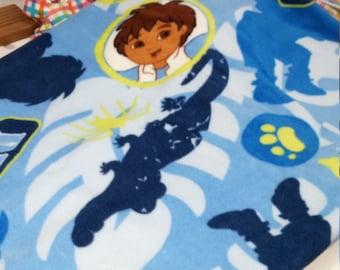 Diego Fleece Toddle Blanket