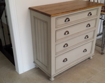 Chest Of Drawers / Shabby Chic Comoda / Side Table