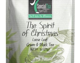 1 oz. The Spirit of Christmas Green Tea