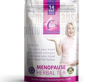 Menopause Herbal Tea, 14 Tea Bags