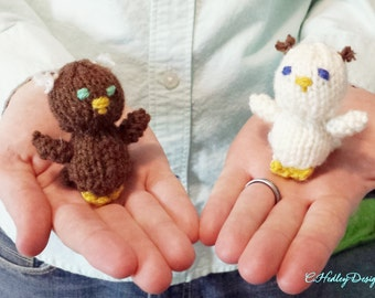 Pocket Knitted Owl Plush