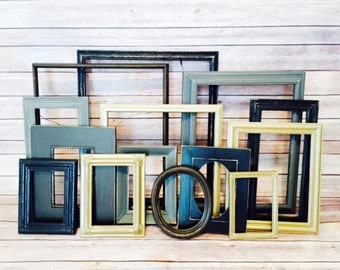 gold and black wall art shabby chic frame kitchen decor picture frames wall hanging decor frame set rustic picture frame