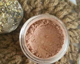 Matte Eyeshadow - Eyeshadow - Eyeshadows - Organic Eyeshadow - Organic Eyeshadows - Eye Shadow - Eye Shadows - Almond Eyeshadow - Powder