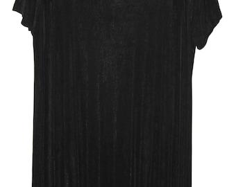Nineties Grunge, Black maxi dress