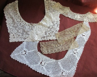 Vintage Lace Collars and Cuffs