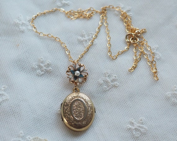 Antique Victorian Locket Pendant
