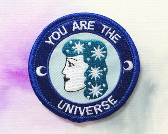 RESERVED FOR AIDAN You Are The Universe Patch