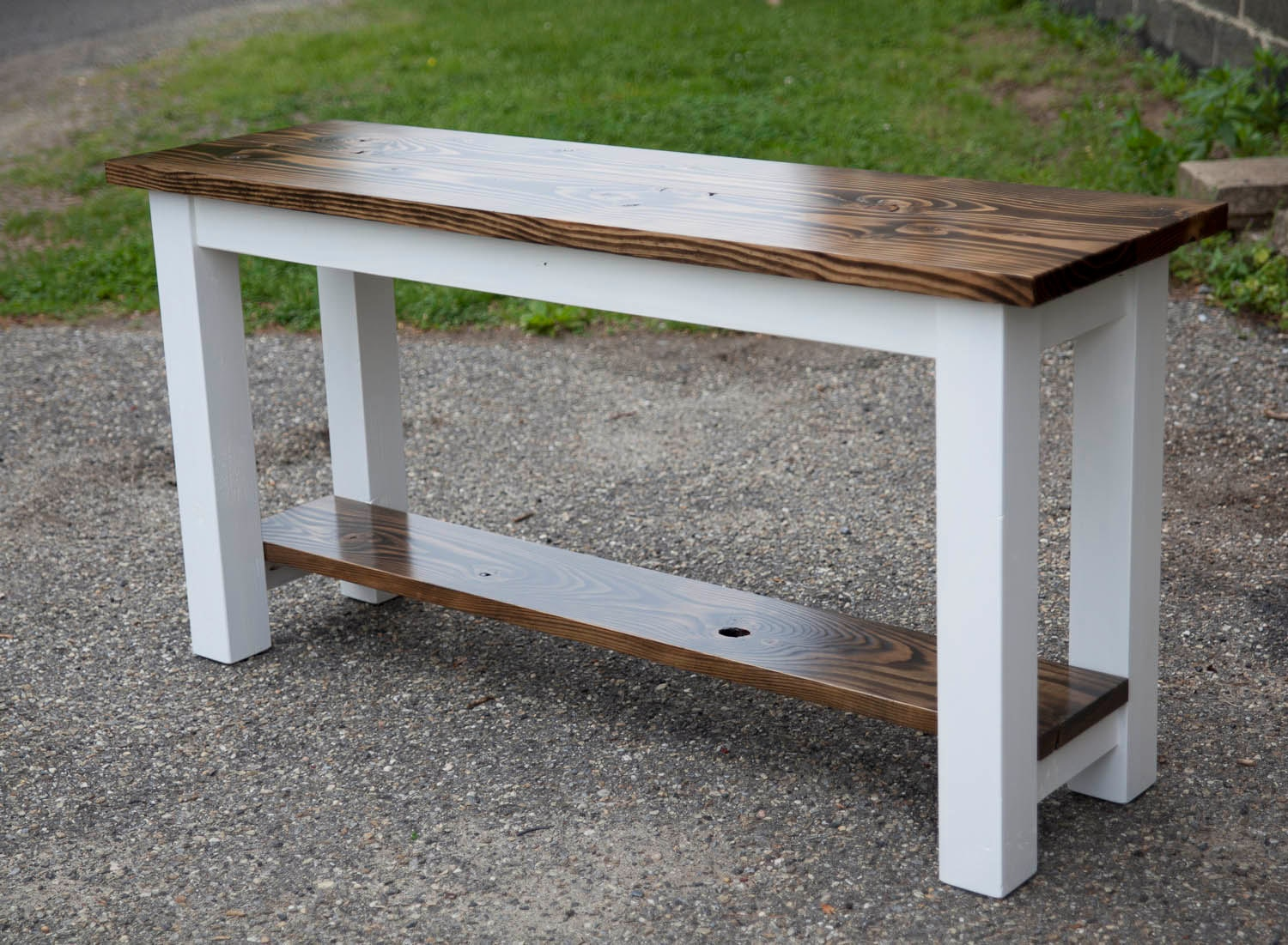 How to make a sofa table from 1 x 6 lumber -  Zoom
