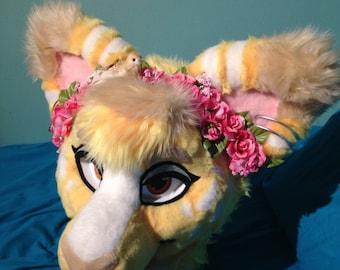 Custom Fursuit Flower Crowns