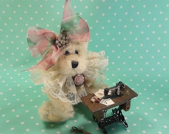 Victorian Sewing Bear