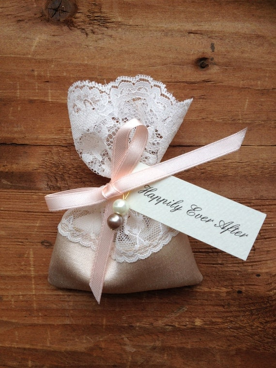 Items Similar To Italian Wedding Favors Lace Favor Bag Jordan Almond Favor Bag Jewelry Favor