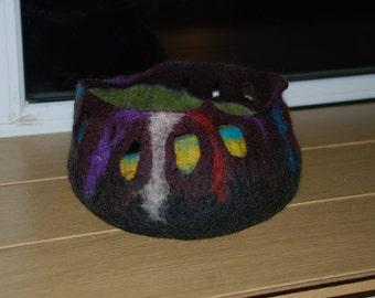 Felted Home  Decor Felted Vase-Bowl