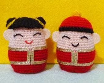 Egg Warmer: Pao-Pao & Mei-Mei