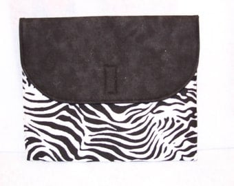 Zebra iPad Cover