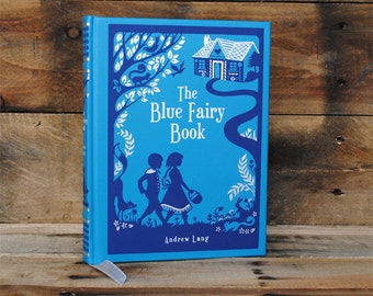 Book Safe - The Blue Fairy Book - Leather Bound Hollow Book Safe