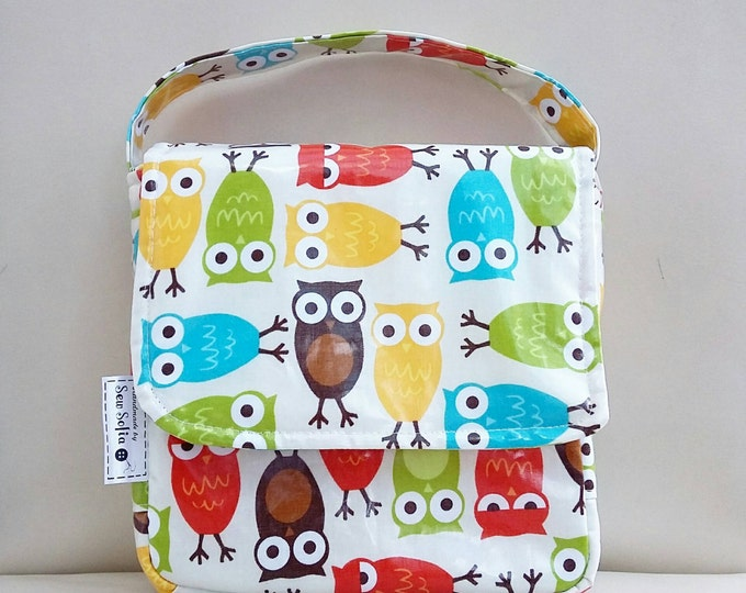 Featured listing image: Child's Insulated Lunch Bag - Choice of Fabrics