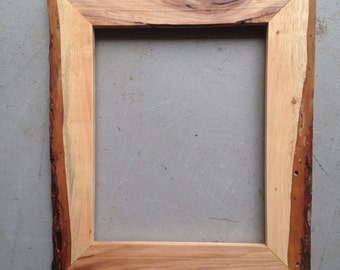 8x10 Pecan Wood Bark Picture Frame
