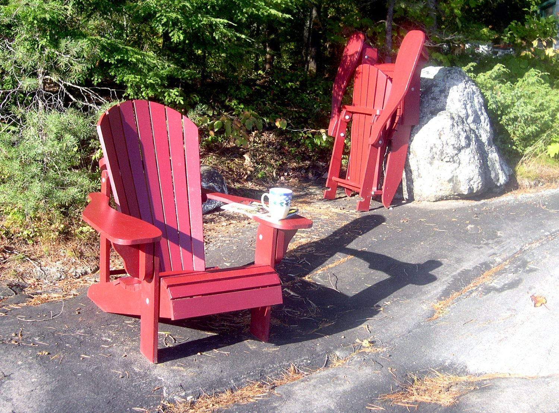 Folding Adirondack Chair Plans Digital Cad Pdf