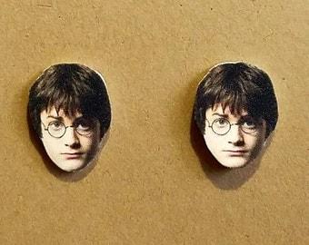 Harry Potter Earrings - Face Earrings