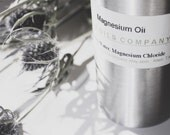 All Natural Magnesium Oil Mist - 2, 4 or 8 ounces - Essential Oils -- Gift For Him & Her