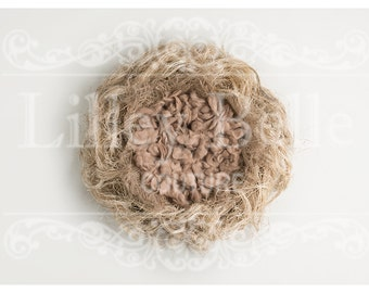Digital prop/backdrop (Messy Nest Natural)