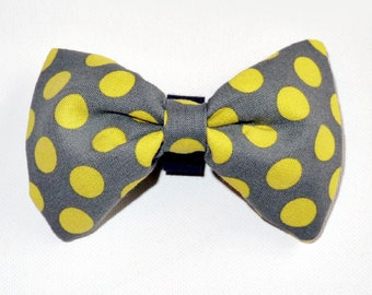 Pea Dog Bow Tie, Pet Bow Tie, Bowtie, Collar Attachment