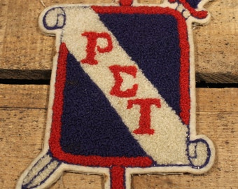 1940s Fraternity Patch