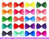 50% OFF SALE Bow tie Clip...