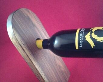 Wooden Balancing Wine Holder
