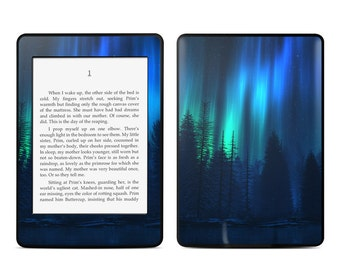 Amazon Kindle Skin - Song of the Sky by Digital Blasphemy - Sticker Decal - Fits Paperwhite, Fire, Voyage, Touch, Oasis