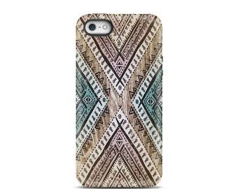 iPhone 5s case Wood, iPhone 5 case, iPhone 6s Plus, iPhone 7 case, iPhone 7 case, iPhone 6 case, personalized iPhone, phone case - Tribal