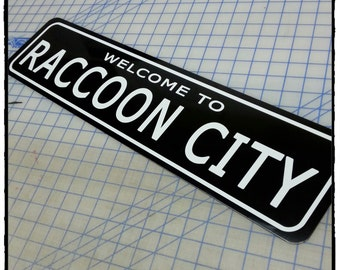 Resident Evil: Welcome to Raccoon City Aluminum Sign