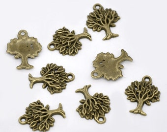 "Antiqued Bronze ""Tree Of Life"" Charms"