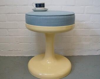 Vintage Friedrich Stuckenbroker tulip stool