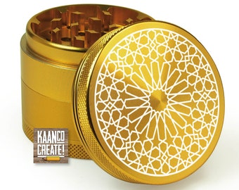 4 Part Herb Grinder with classic design