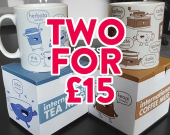 International Mugs (Double Deal!)