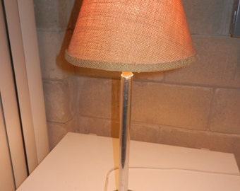 FREE SHIPPING - Homemade Lamp - Industrial Look - Table Lamp - With or Without Shade
