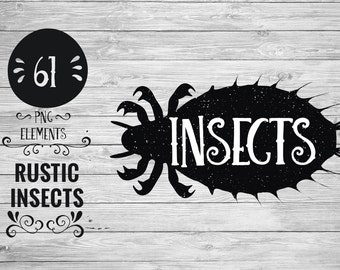 Rustic Insects