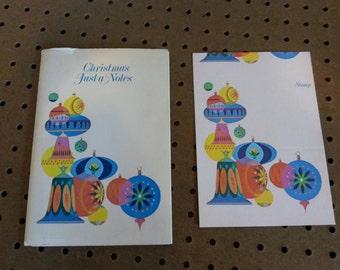 Vintage - Ephemera Christmas postcard set