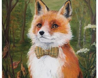 Mr Fox print